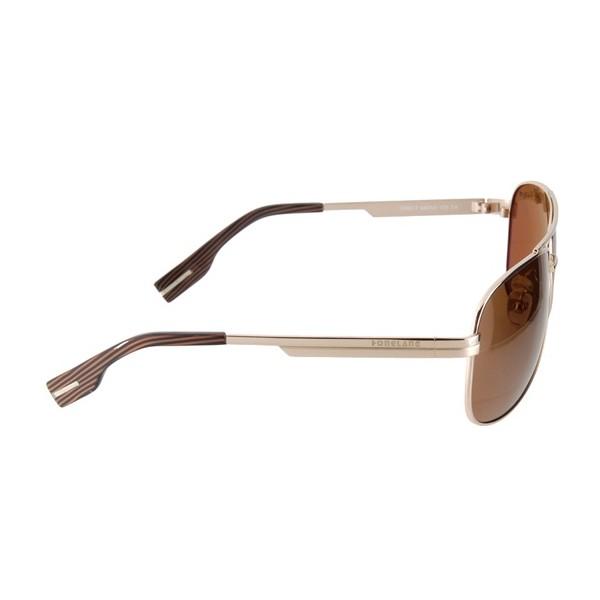 okulary przeciwsłoneczne męskie szkło brązowe